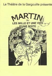 affiche martin et les mille et une vies d'une boite